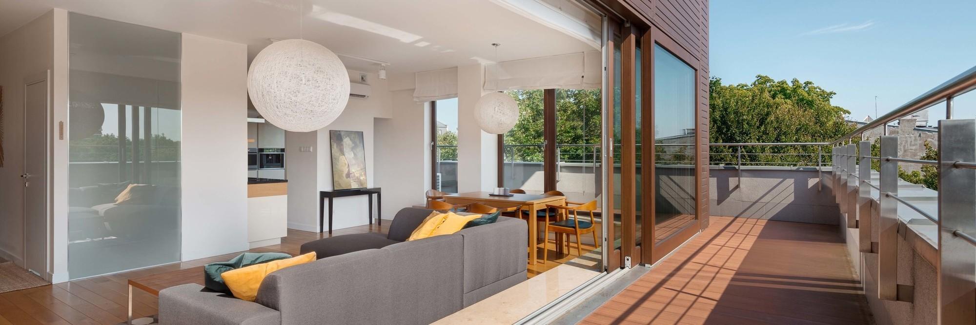 Portes intérieures – terrasses | Menuiserie G.Renard